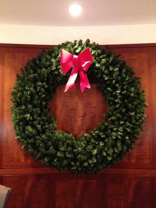 6 Foot Wreath - Customer Image