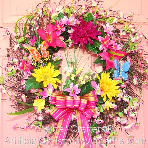 FLOWER GARDEN WREATH