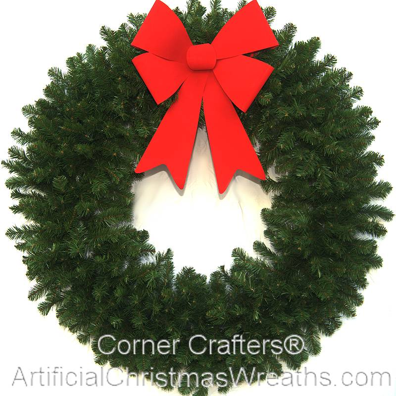 FOOT DELUXE CHRISTMAS WREATH (without lights ...