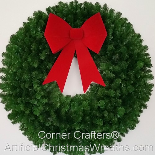 4 Foot Deluxe Christmas Wreath (without lights)
