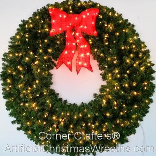 5 Foot Christmas Wreath Artificialchristmaswreathscom 60 Inch