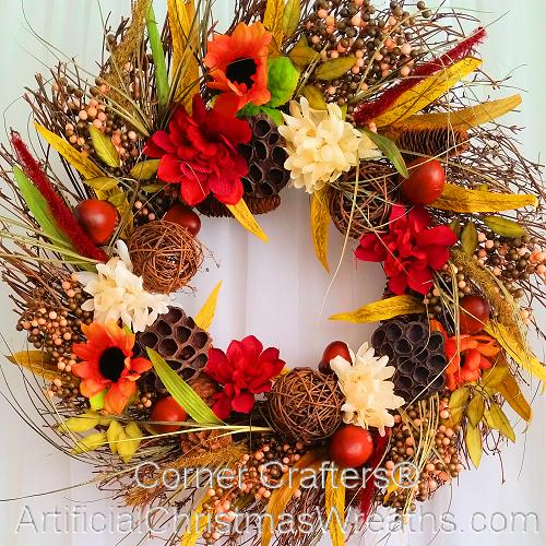 Autumn Country Wreath