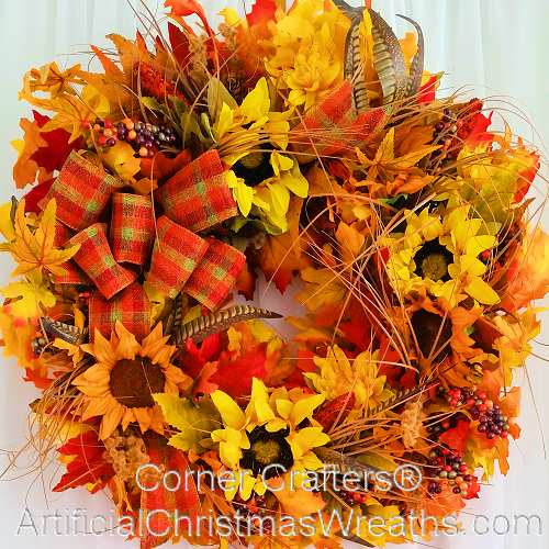 Superior Fall Festival Wreath Design