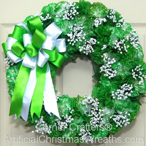 Irish Charm St Patricks Day Wreath