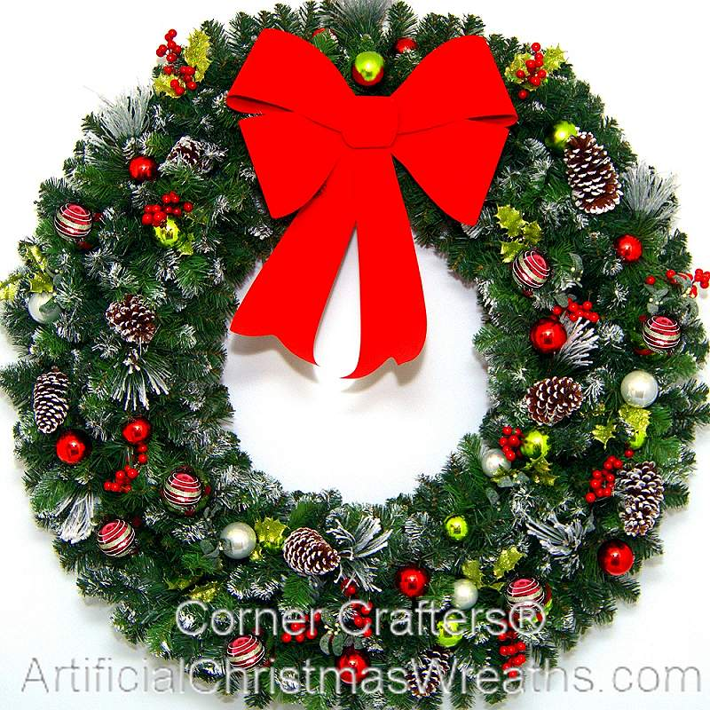 48 Inch Artificial Christmas Wreath