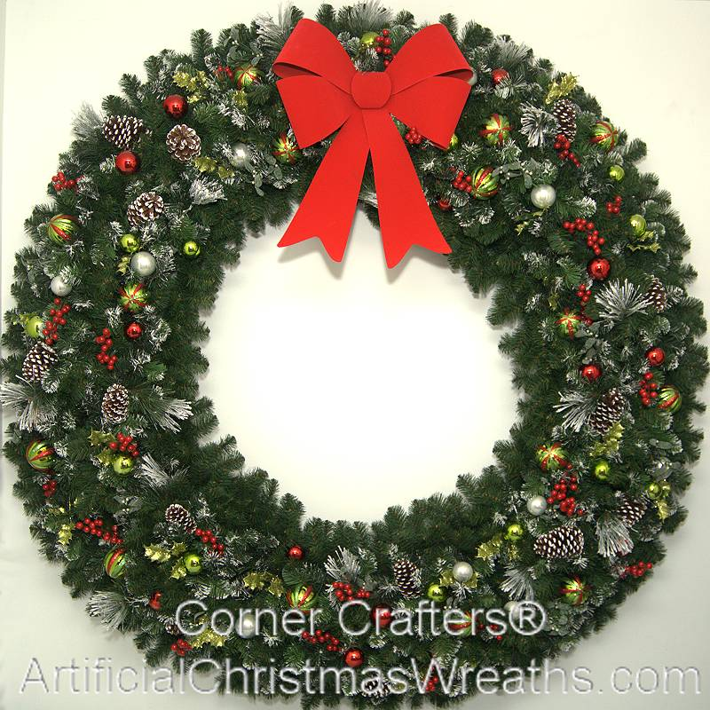 6 foot 72 inch christmas magic wreath - Large Christmas Wreath