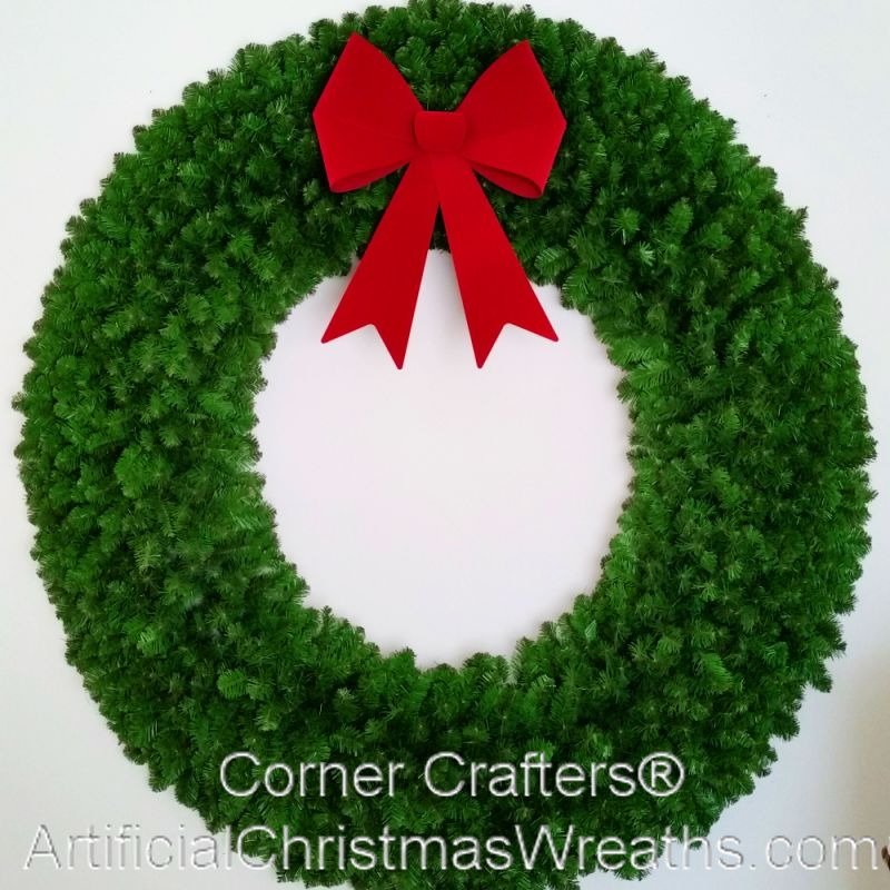 FOOT CHRISTMAS WREATH (without lights) | ArtificialChristmasWreaths ...