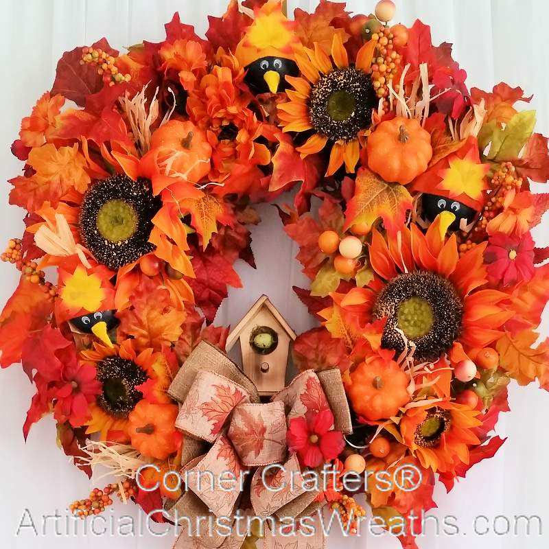 Fall country wreath Fall autumn door wreaths