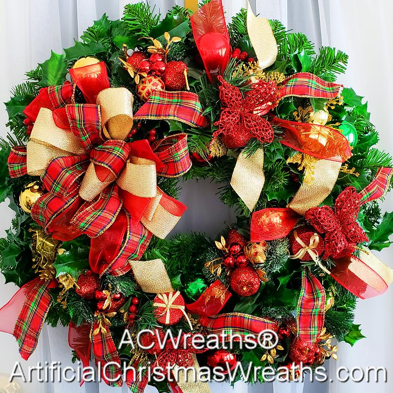 Holly Jolly Christmas.Holly Jolly Christmas Wreath