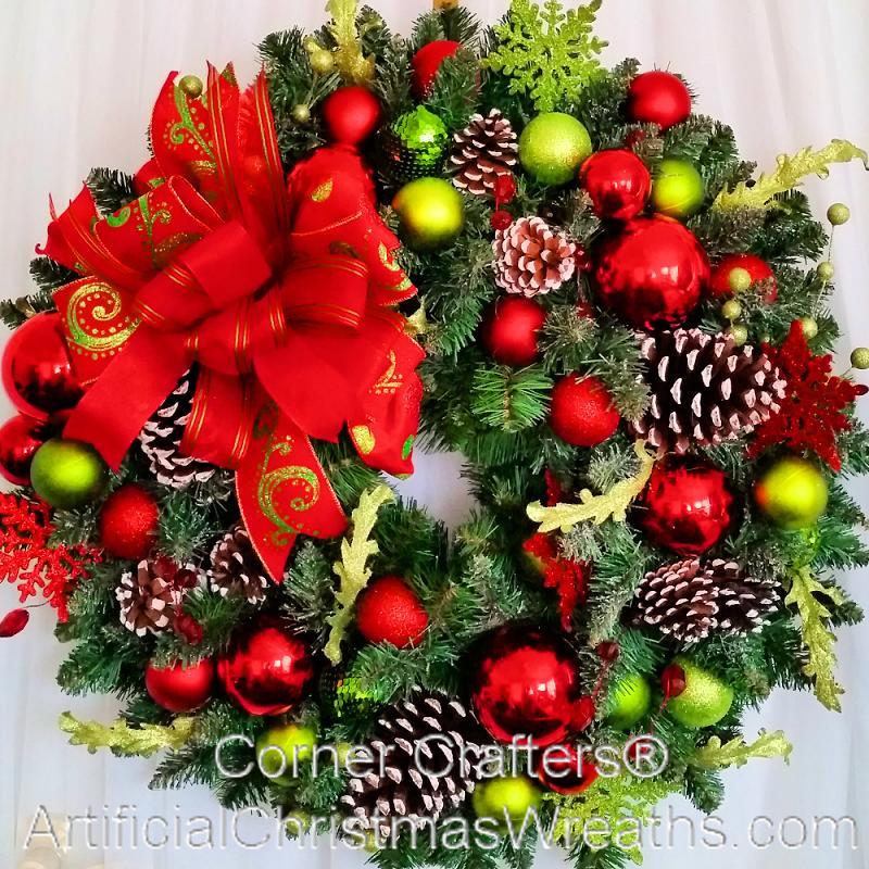 welcome christmas wreath on - photo #42