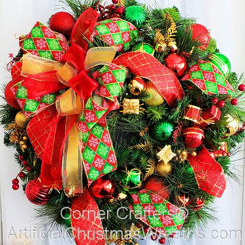 Regal Elegance Wreath