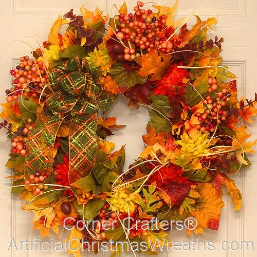 Shades of Autumn Wreath