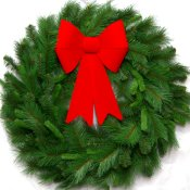 3 Foot Deluxe Mixed Pine Christmas Wreath