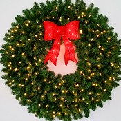 4 FOOT CHRISTMAS WREATHS | ArtificialChristmasWreaths.com | 48 ...