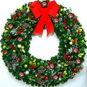 5 Foot Christmas Magic Wreath