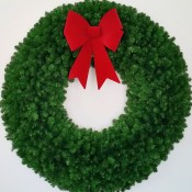 5 Foot Christmas Wreath (without lights)