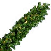 9 x 14 Noble Fir Incandescent Garland