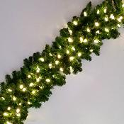 9 x 18 Noble Fir LED Garland