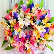Floral Splendor Wreath
