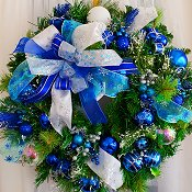 Frozen Elegance Wreath