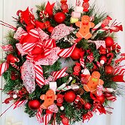 Holiday Bake Shop Wreath