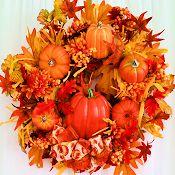 Pumpkin Patch Wreath $59.95!