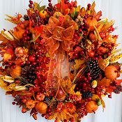 Bountiful Harvest Wreath
