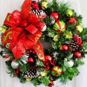 Christmas Magic Wreath