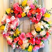 Rose Garden Mother's Day Wreath