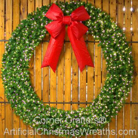 10 Foot Unlit Christmas Wreath