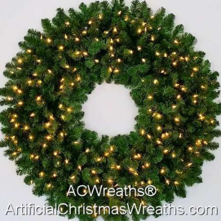 4 Foot (48 inch) Inc. Christmas Wreath