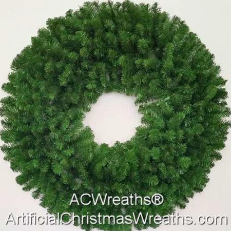 4 Foot (48 inch) Christmas Wreath (without lights)