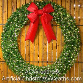 10 Foot LED Christmas Wreath