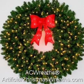 4 Foot LED Christmas Wreath