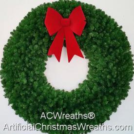 5 Foot Unlit Christmas Wreath