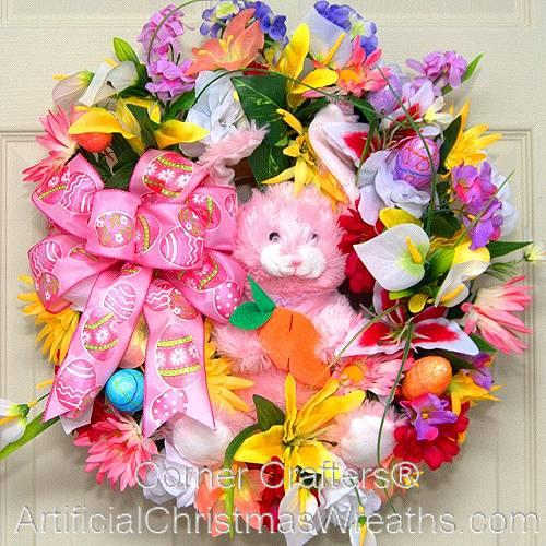 Sunny Bunny Easter Wreath
