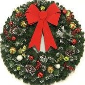 36 inch Christmas Magic Wreath